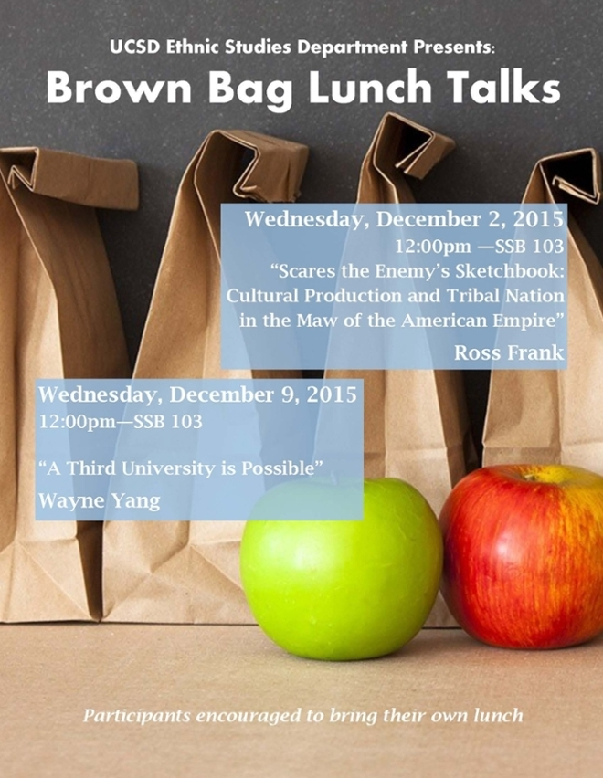 Brown Paper Bag Lunch Talks